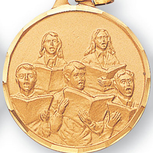 Choir Medal 1 1/4