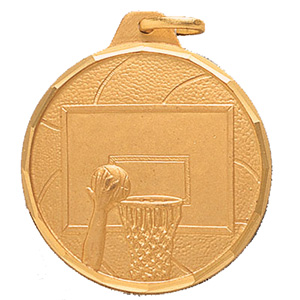 General Basketball Medal 1 1/4