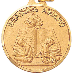 Reading Award Medal 1 1/4