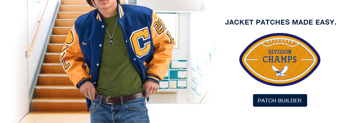 020ed9c43 Varsity Jackets, Custom Chenille Patches and School Awards from Neff
