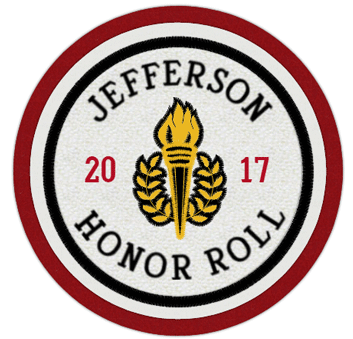 Circle Honor Roll Patch 4