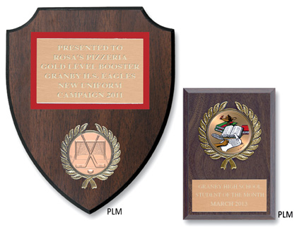 Medallion Award Plaques