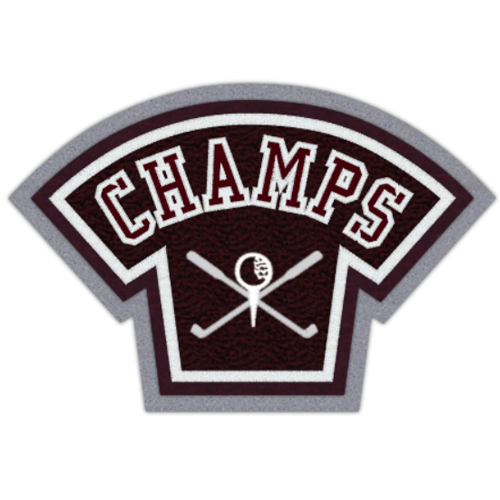 Champs Golf Patch 5