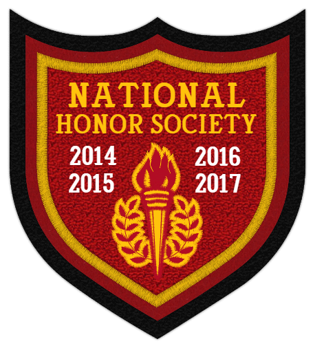 Honors 4 Point Shield Shape Patch 4