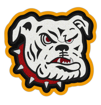 Bulldog Patch 3 4