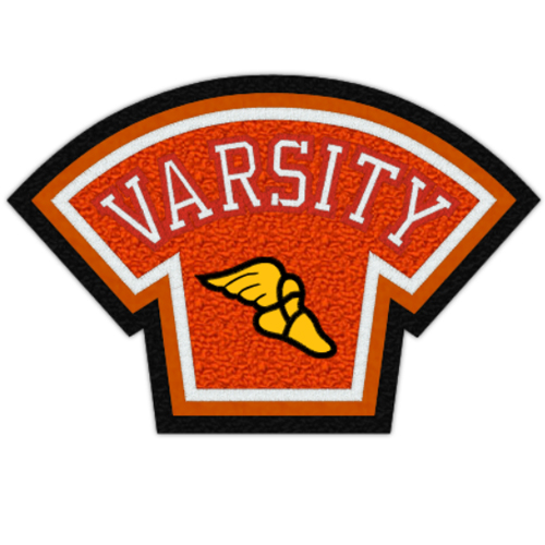 Varsity Cross Country Patch, 5