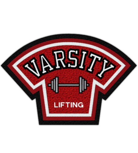 Weightlifting Varsity Patch 5
