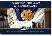 School Jackets Leather Sleeves