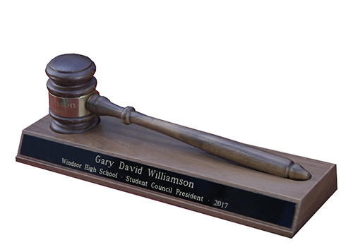 Gavel Desk Set