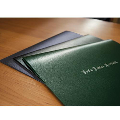 Classic Flexhide Certificate Cover   School Certificate Covers